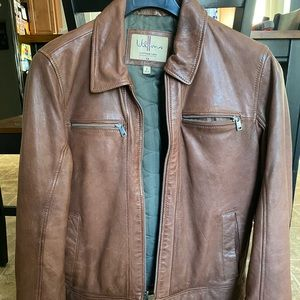 Awesome brown Wilsons leather Jacket!